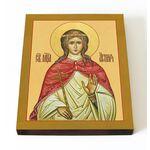 Мученица Агния Римская, Анна, дева, печать на доске 13*16,5 см - Иконы