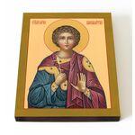Мученик Вонифатий Тарсийский, печать на доске 13*16,5 см - Иконы