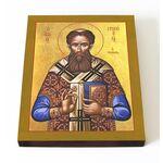 Святитель Григорий Палама, Солунский, печать на доске 13*16,5 см - Иконы