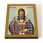 Святитель Дионисий, архиепископ Суздальский, икона на доске 13*16,5 см - Иконы