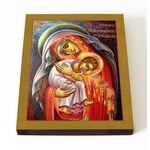 Икона Божией Матери Защитница сирых и брошенных, на доске 13*16,5 - Иконы