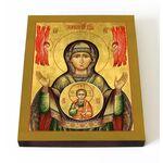 """Икона Божией Матери """"Знамение"""" Верхнетагильская, доска 13*16,5 см - Иконы"""