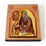 Преподобный Иоанн Дамаскин, доска 13*16,5 см - Иконы