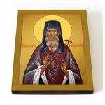 Преподобный Макарий Глухарев, Алтайский, икона на доске 13*16,5 см - Иконы