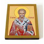 Святитель Мирон Критский, на доске 13*16,5 см - Иконы
