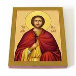 Мученик Анатолий Никейский, икона на доске 13*16,5 см - Иконы
