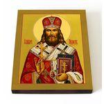 Священномученик Пимен Верненский, Белоликов, икона на доске 13*16,5 см - Иконы