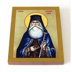 Преподобный Георгий Черникский, икона на доске 13*16,5 см - Иконы