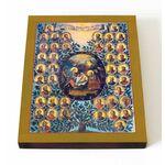 Родословие Иусуса Христа, икона на доске 13*16,5 см - Иконы