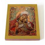 Сайданайская икона Божией Матери, печать на доске 13*16,5 см - Иконы