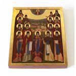 Собор преподобных Оптинских старцев, икона 13*16,5 см - Иконы