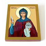 Преподобная София Суздальская, икона на доске 13*16,5 см - Иконы
