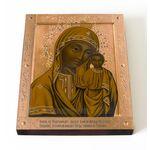 Табынская икона Божией Матери, печать на доске 13*16,5 см - Иконы