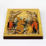 Воскресение Христово, Сошествие во ад, печать на доске 20*25 см - Иконы