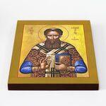 Святитель Григорий Палама, Солунский, икона на доске 20*25 см - Иконы