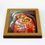 Икона Божией Матери Защитница сирых и брошенных, на доске 20*25 см - Иконы