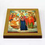 """Икона Божией Матери """"Целительница"""", икона на доске 20*25 см - Иконы"""