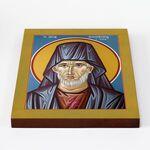 Преподобный Никифор Джанакакис, Прокаженный, икона на доске 20*25 см - Иконы