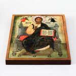 Спас на престоле, икона на доске 20*25 см - Иконы