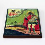 Мученик Христофор Ликийский, икона на доске 20*25 см - Иконы