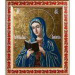 Калужская икона Божией Матери, рамка с узором 19*22,5 см - Иконы