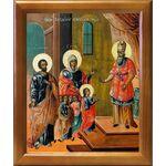 Введение во храм Пресвятой Богородицы, икона в рамке 17,5*20,5 см - Иконы