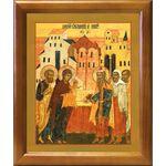 Обрезание Господне, икона в рамке 17,5*20,5 см - Иконы