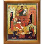 Рождество Иоанна Предтечи, икона в рамке 17,5*20,5 см - Иконы