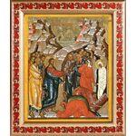 Воскрешение Лазаря, икона в рамке с узором 19*22,5 см - Иконы