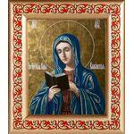 Калужская икона Божией Матери, рамка с узором 14,5*16,5 см - Иконы