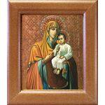 Казанская Песчанская икона Божией Матери, рамка 14,5*16,5 см - Иконы