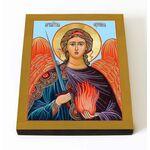 Архангел Уриил, икона на доске 8*10 см - Иконы