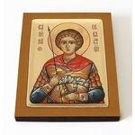 Мученик Валерий Севастийский, икона на доске 8*10 см - Иконы