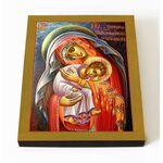 Икона Божией Матери Защитница сирых и брошенных, на доске 8*10 см - Иконы