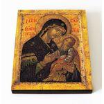 """Икона Божией Матери """"Мати Молебница"""", печать на доске 8*10 см - Иконы"""
