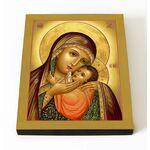 Касперовская икона Божией Матери, печать на доске 8*10 см - Иконы