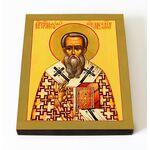 Преподобный Маруф Мартиропольский, икона на доске 8*10 см - Иконы