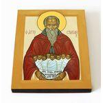 Преподобный Стилиан Пафлагонский, Чадозаступник, икона 8*10 см - Иконы