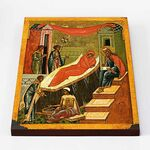 Рождество Иоанна Предтечи, Новгород XV-XVI в, на доске 30*40 см - Иконы