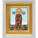 Мученица Валерия Кесарийская, Калерия, икона в белом киоте 14*16 см - Иконы