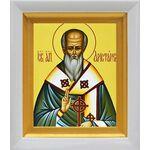 Апостол от 70-ти Аристарх Апамейский, икона в белом киоте 14*16 см - Иконы