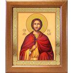 Мученик Анатолий Никейский, икона в широкой рамке 19*22,5 см - Иконы