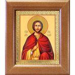 Мученик Анатолий Никейский, икона в широкой рамке 14,5*16,5 см - Иконы