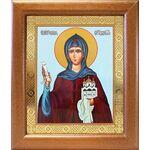 Преподобная София Суздальская, икона в широкой рамке 19*22,5 см - Иконы