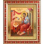 Апостол Матфей, евангелист, икона в рамке с узором 19*22,5 см - Иконы