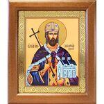 Благоверный князь Владислав Сербский, широкая рамка 19*22,5 см - Иконы