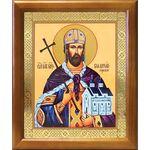 Благоверный князь Владислав Сербский, икона в рамке 17,5*20,5 см - Иконы