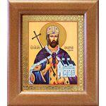 Благоверный князь Владислав Сербский, широкая рамка 14,5*16,5 см - Иконы
