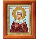 Мученица Виктория Кордувийская, икона в рамке 8*9,5 см - Иконы