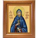 Преподобная Анастасия Патрикия, Александрийская, в рамке 19*22,5 см - Иконы